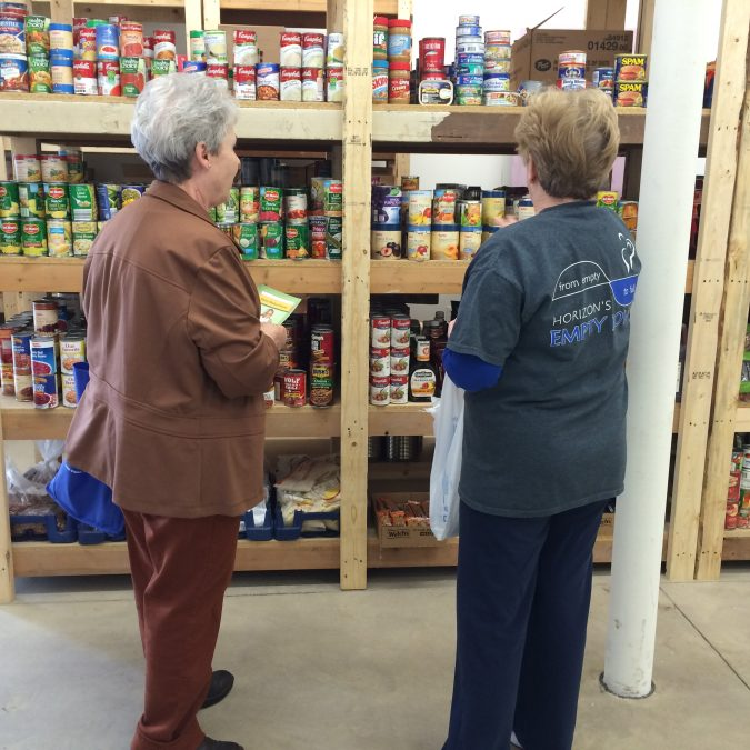 New Food Pantry Grand Opening