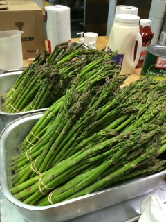 Horizons Social Services - Soup Kitchen - Asparagus