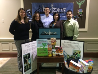 Horizons Social Services - Food Pantry - People's Properity Donation